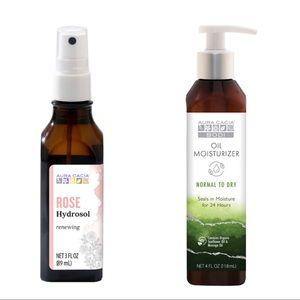 NWT Aura Cacia Skincare Bundle